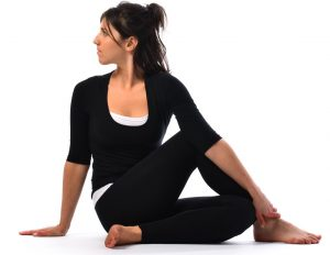 Ardha matsyendrasana yoga asanas for weight loss