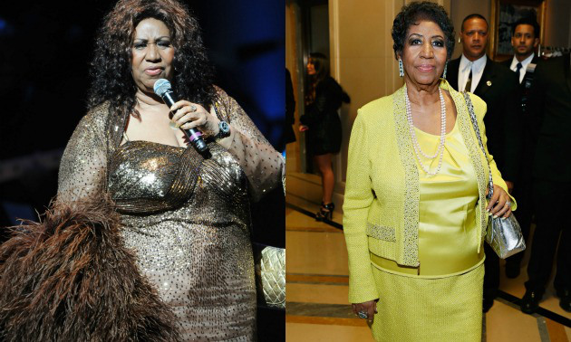Aretha Franklin Fat to Fit Hollywood Celebrity