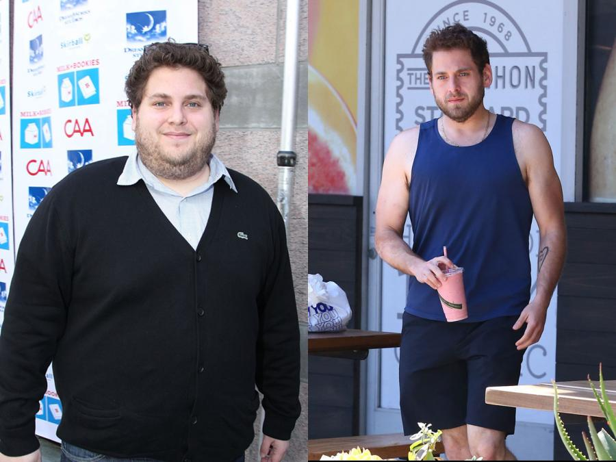 Jonah Hill Fat to Fit Hollywood Celebrity