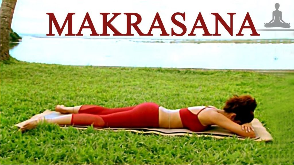 Makrasana Shilpa Shetty Weight Loss Yoga