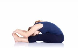 Paschimottanasana yoga asanas for weight loss