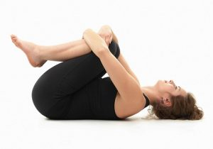 Pavanamuktasana yoga asanas for weight loss