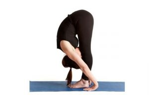 Uttanasana yoga asanas for weight loss