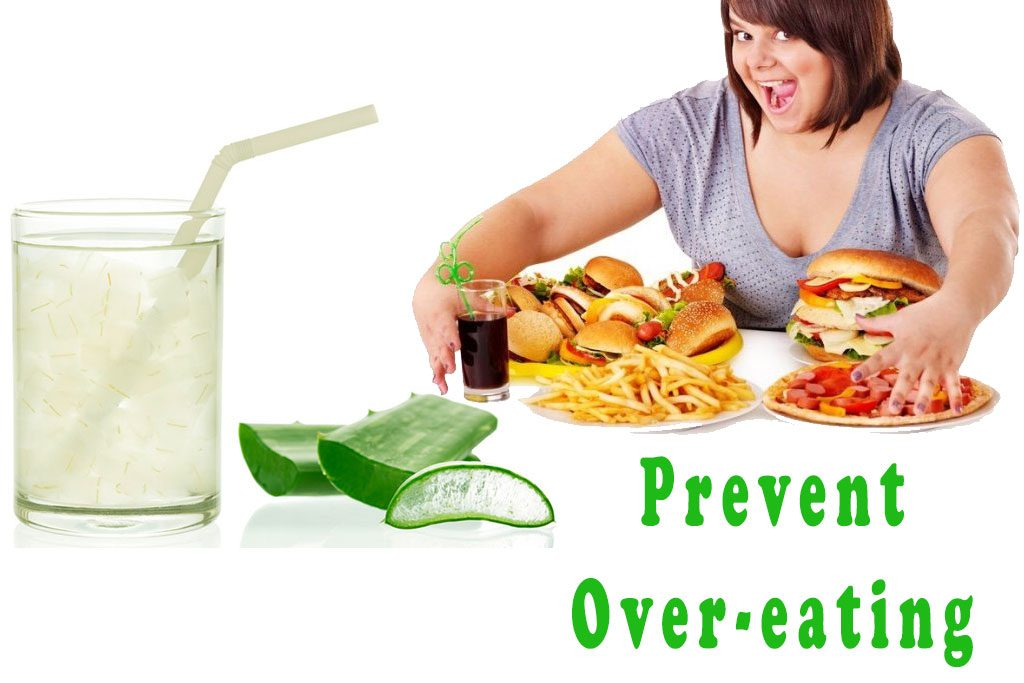 prevent overeating aloe vera weight loss