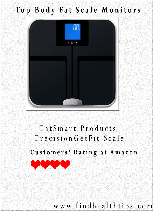 EatSmart Products Precision Get Fit Scale