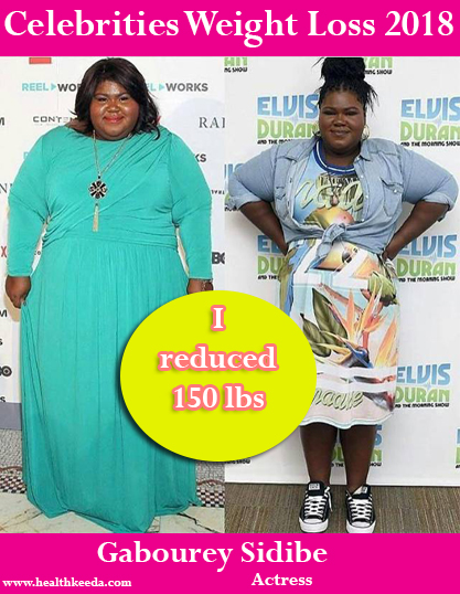 Gabourey Sidibe Weight Loss Before After