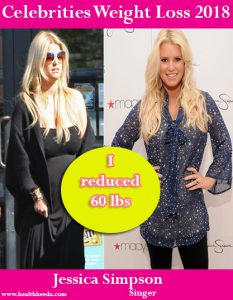 Jessica Simpson Weight Loss Before After
