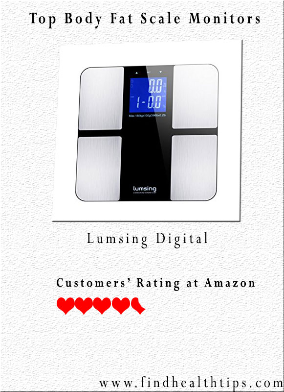 Lumsing Digital Body Weight Scale