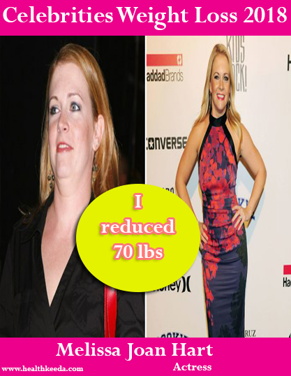 Melissa Joan Hart Weight Loss Before After