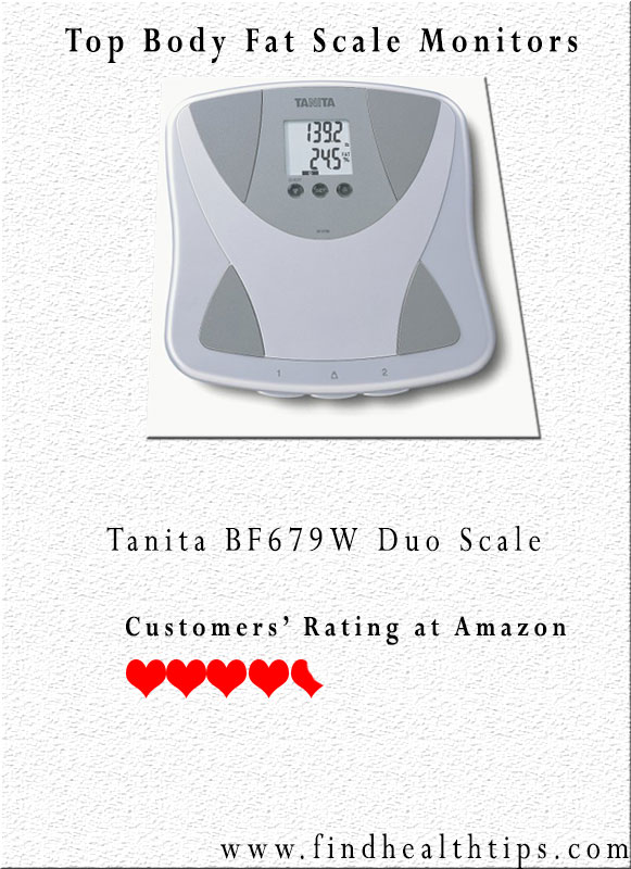 Tanita BF679W Duo Scale Body Fat Scale