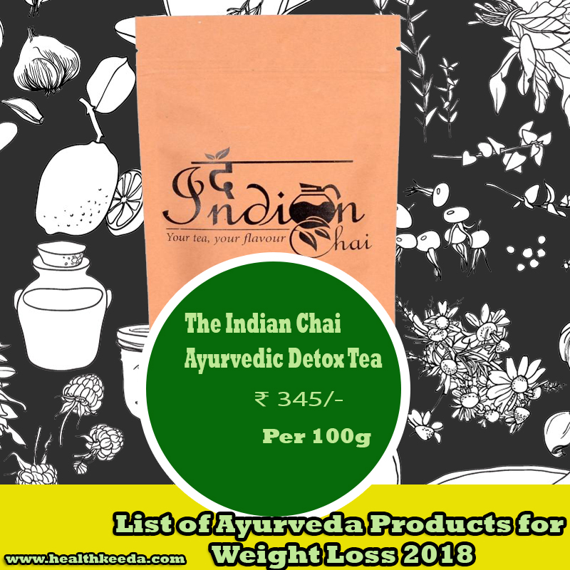 The Indian Chai Ayurvedic Detox Tea Weight Loss Ayurvedic Products