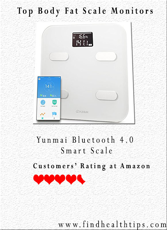Yunmai Bluetooth 4.0 Smart Scale Body Fat Analyzer