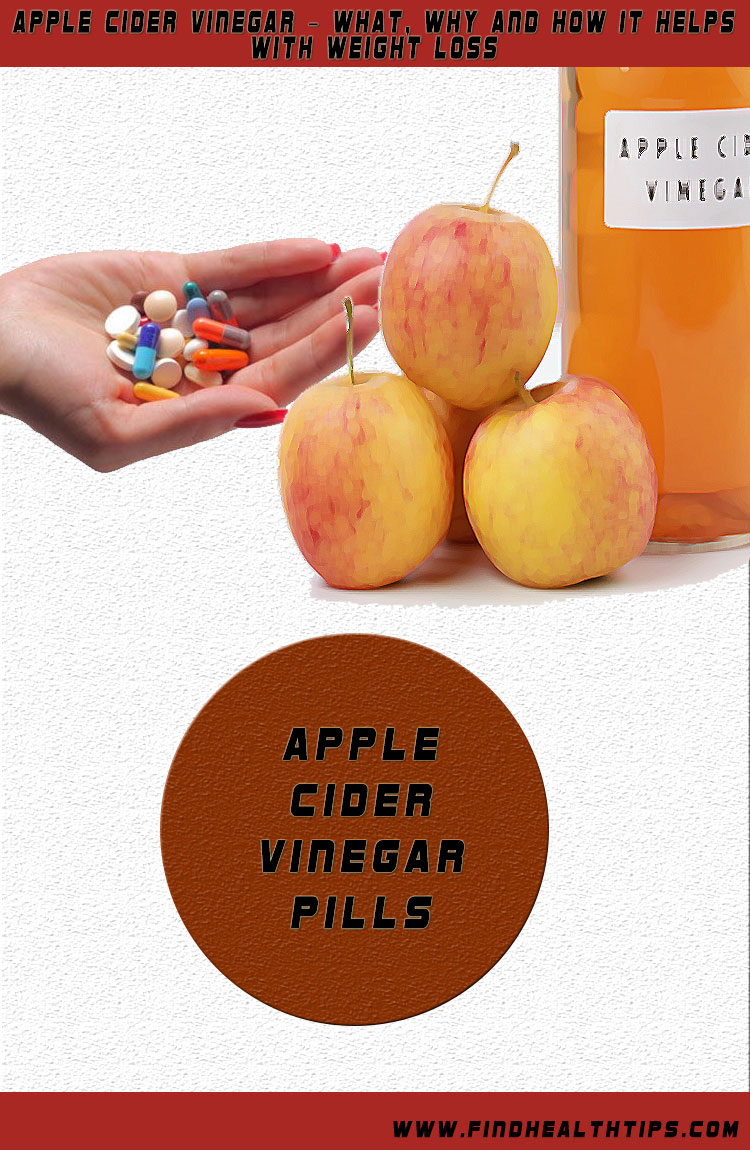 apple cider vinegar weight loss pills
