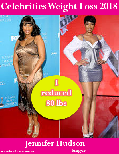 Jennifer Hudson Before After Weight Loss