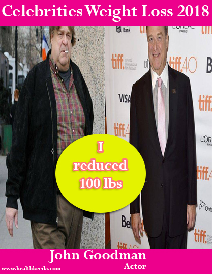 john goodman Weight Loss Before After