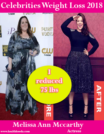 melissa mccarthy weight loss before after