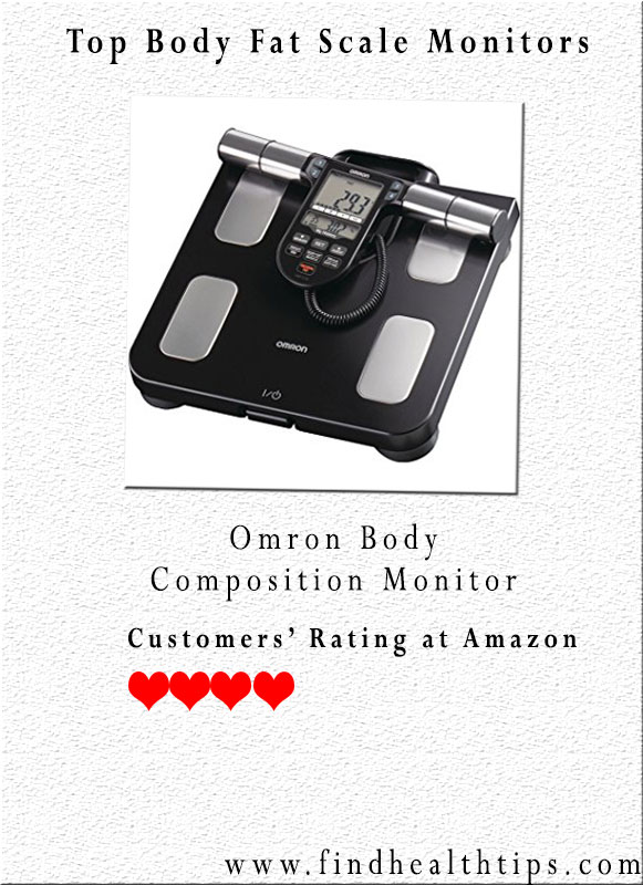 omron body composition monitor body fat analyzer
