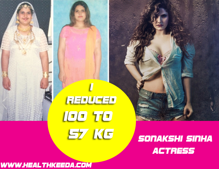 Zarine Khan Before and After Photo - Indian celebrities weight loss