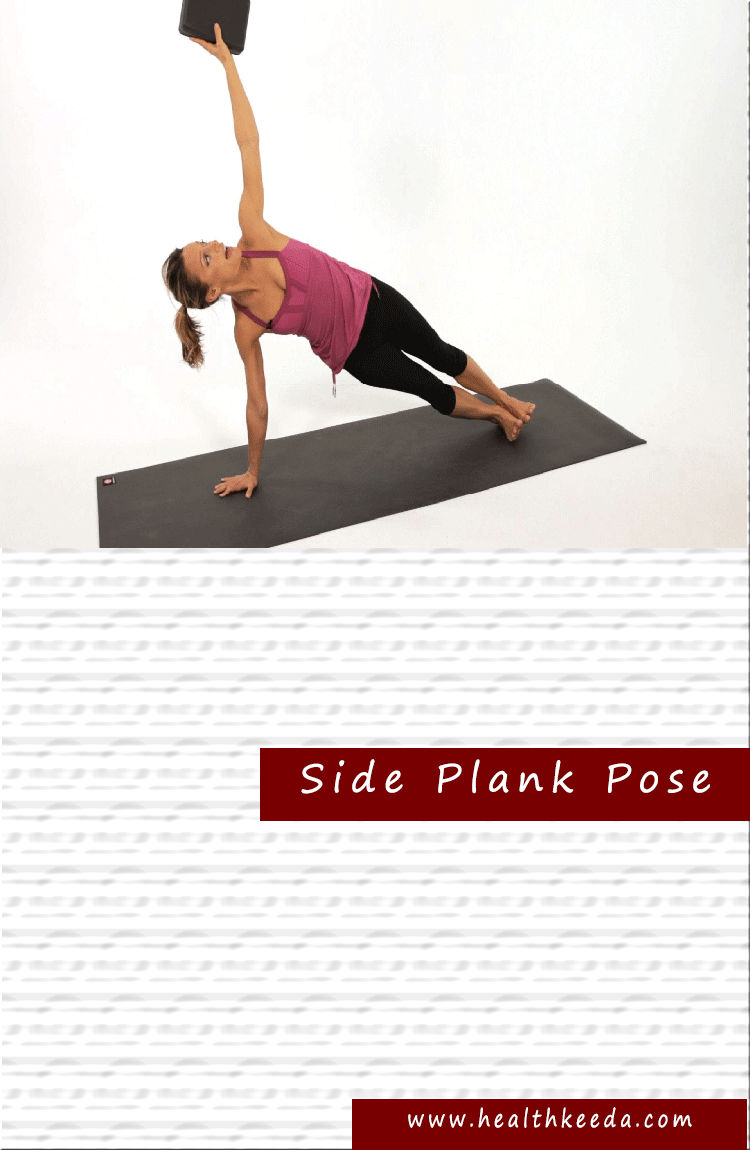 Side Plank Yoga Weight Loss Pose