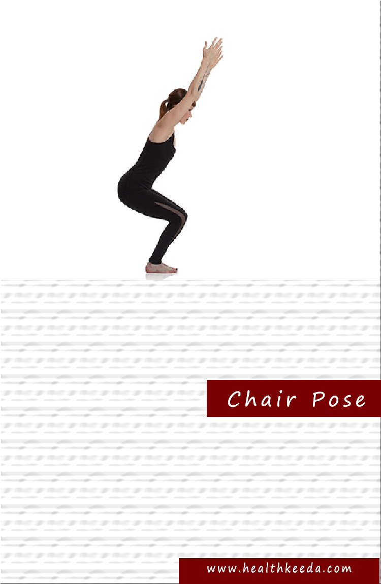 Chair yoga pose weight loss