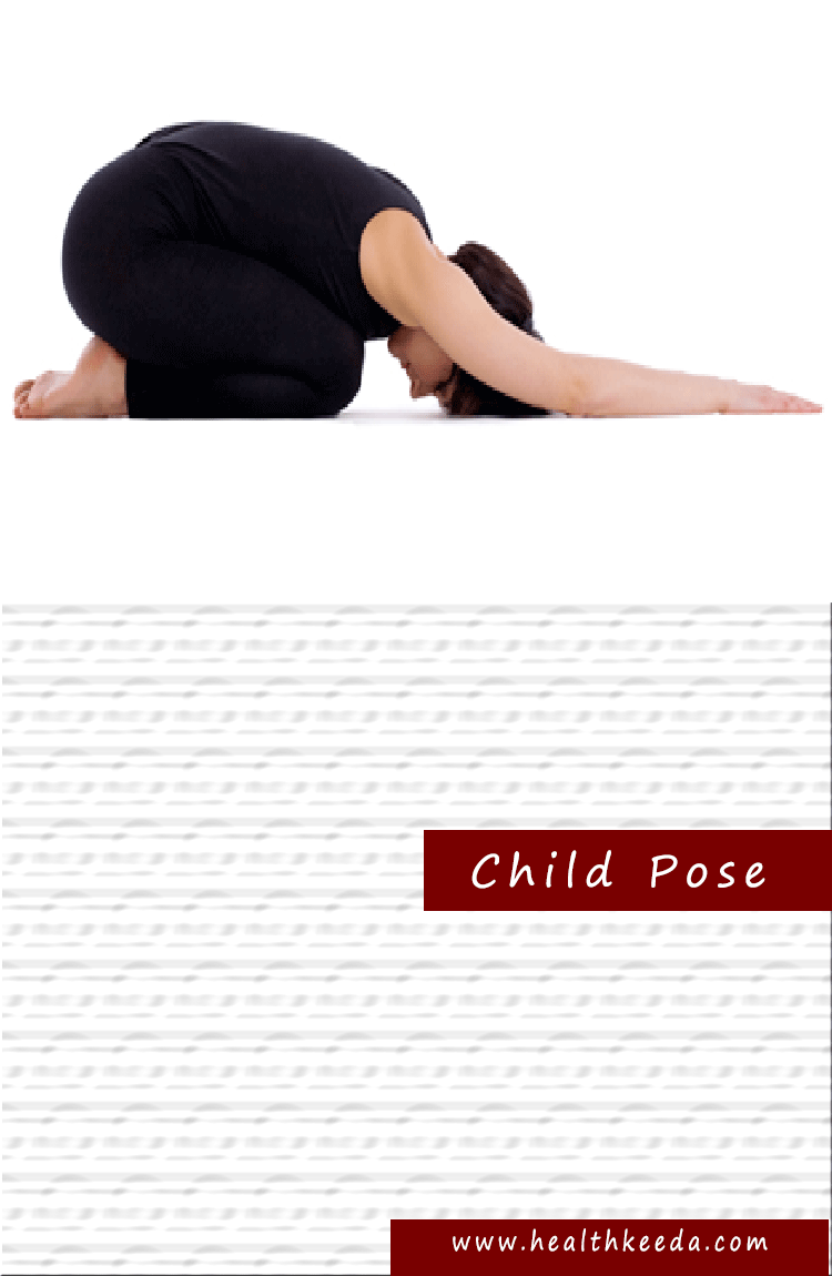 Child yoga pose weight loss