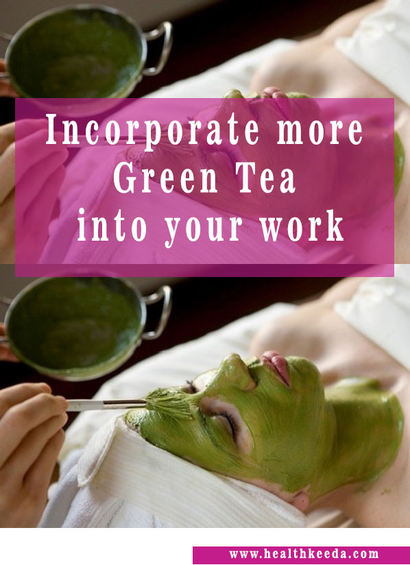 use green tea burn face fat naturally