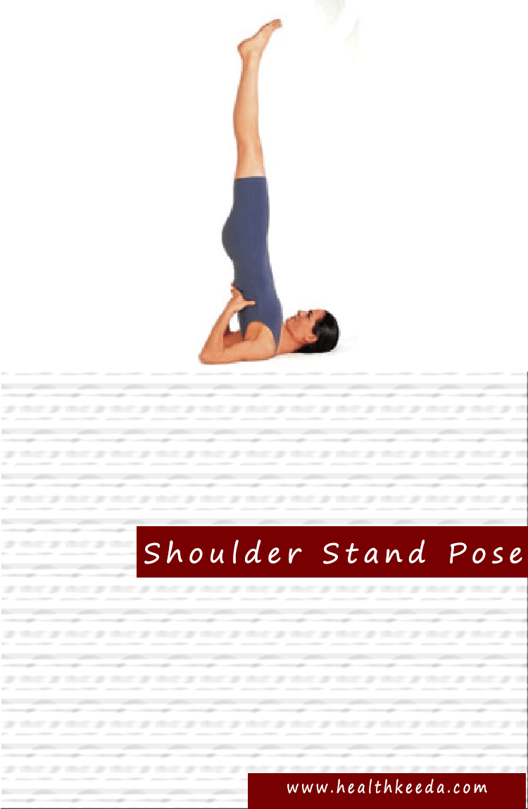 Shoulderstand Yoga Pose Weight Loss