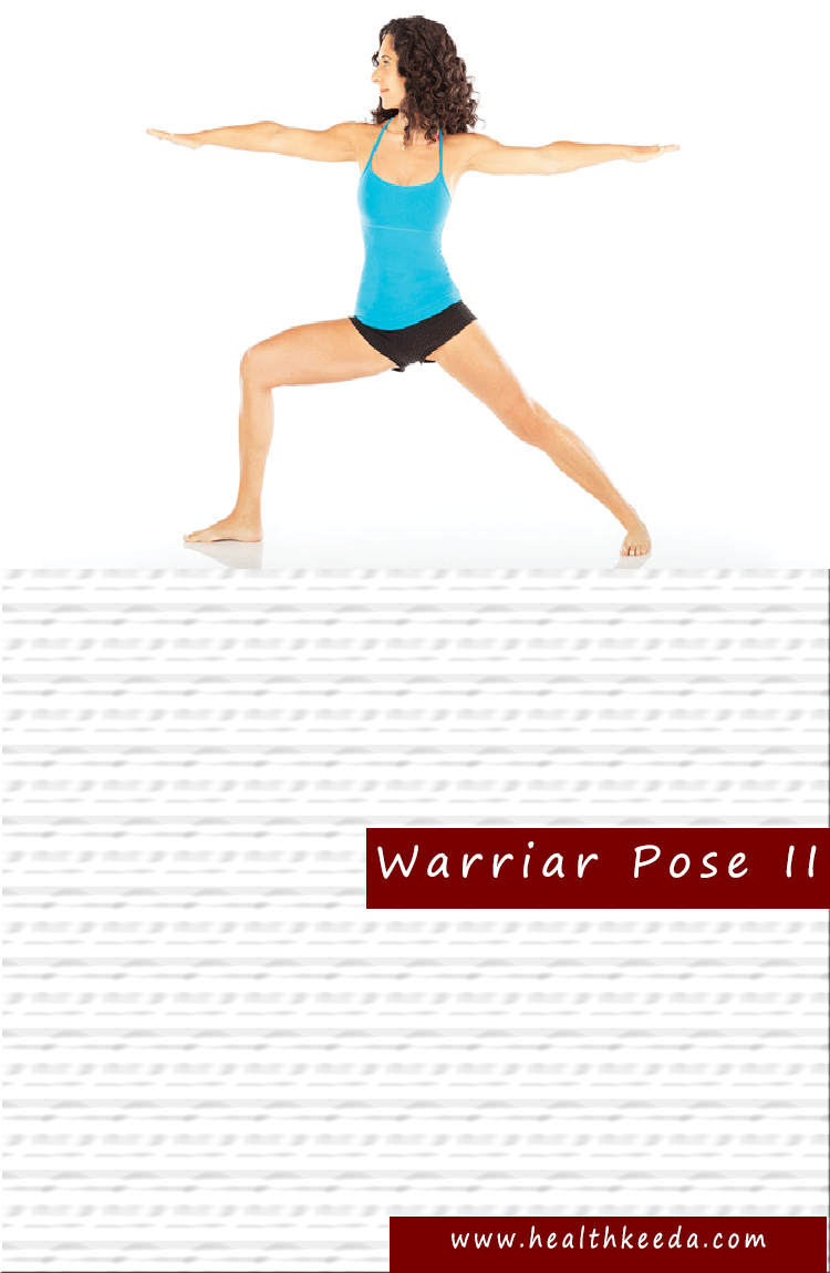 warriar Yoga Pose ii Weight Loss