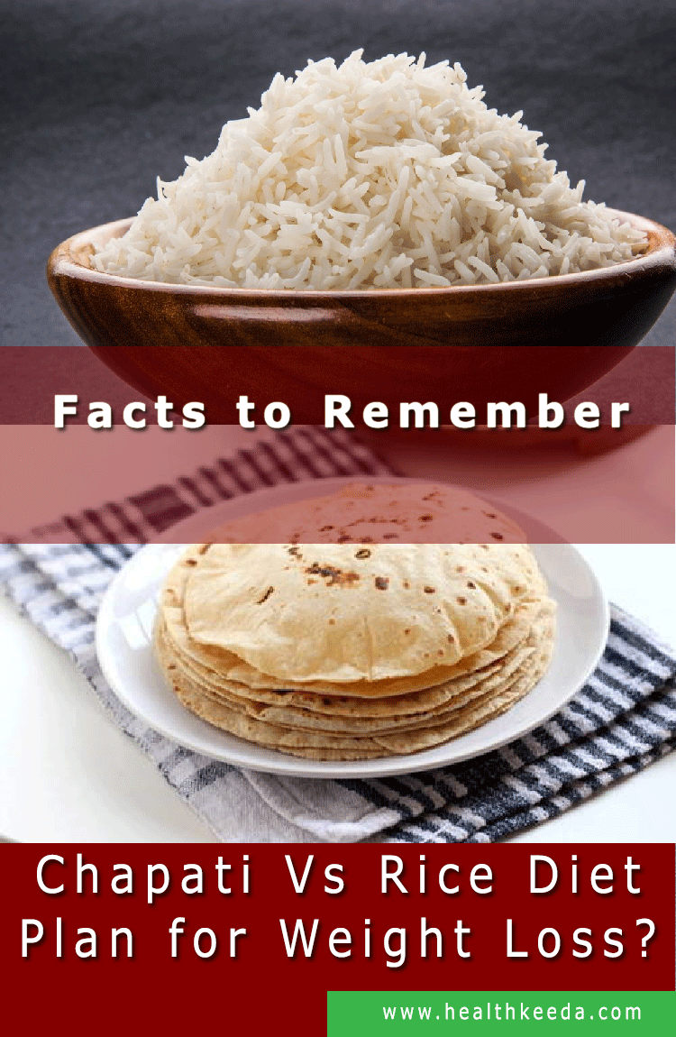 Facts are reminiscent of rice versus chapati