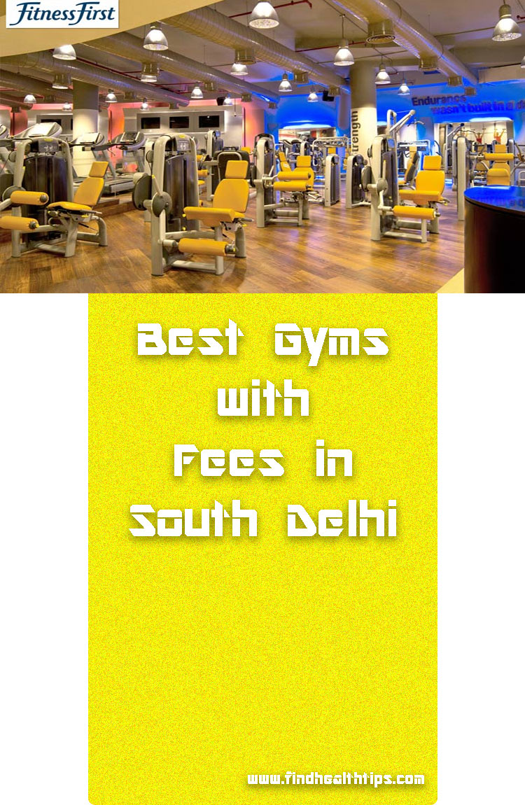 Fitness First Gym Best Gyms South Delhi