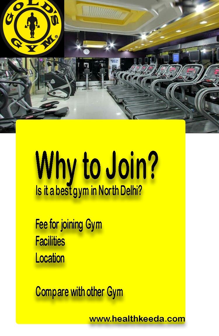 Gold Gym Best Gym in South Delhi