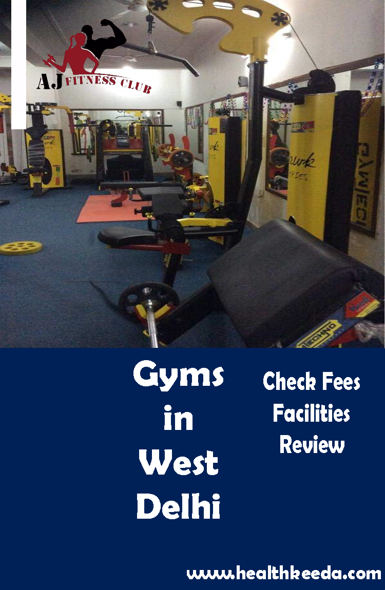 Gyms West Delhi AJ fitness