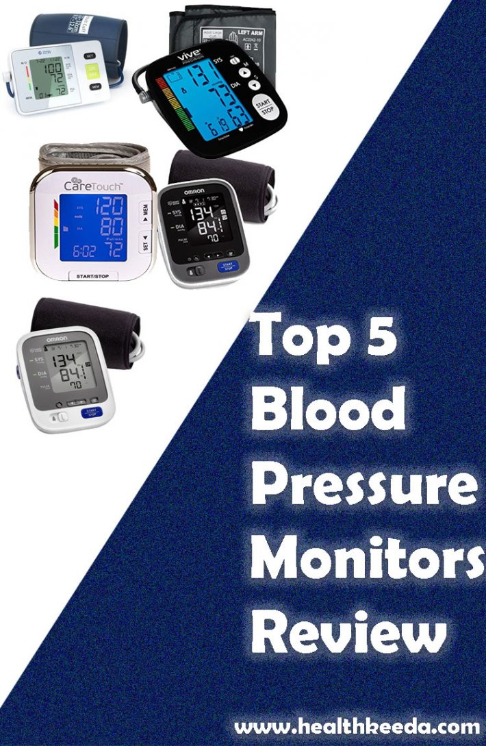 top 5 Best Blood Pressure Monitors Review