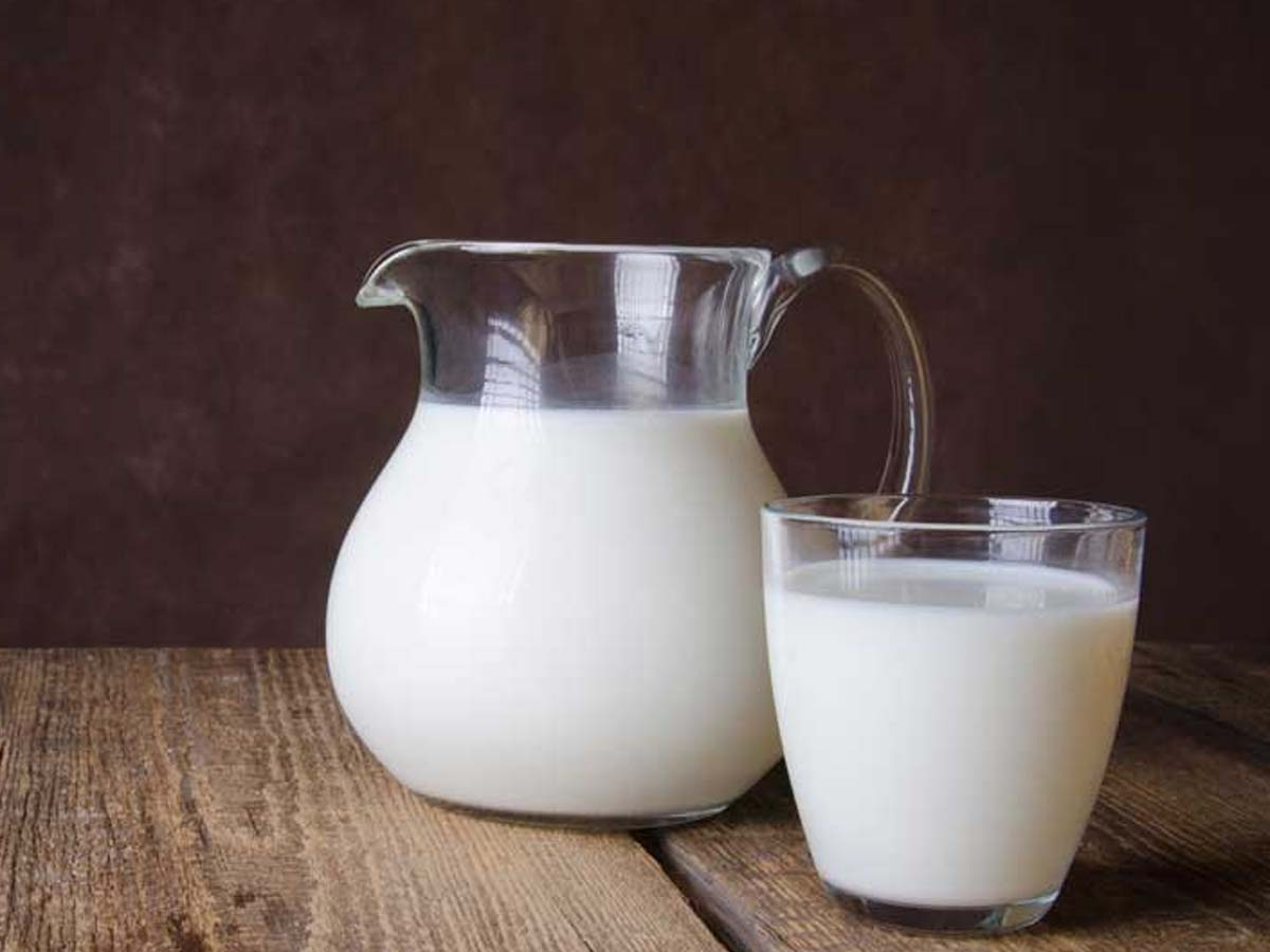 Milk- cheapest protein foods in India