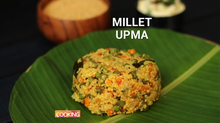 Millet Upma - Healthy Snacks in India