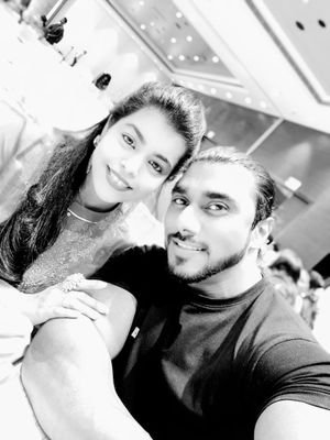 Sangram Chougule with wife - Fitness Motivation Story