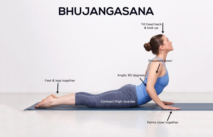 Bhujangaasana - Cobra Pose Benefits